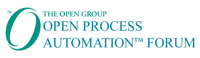a picture of the Open Process Automation Forum logo.