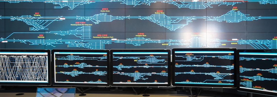 An image of condition monitoring with ERP that gives manufacturers and operations better visibility as well as the ability to control maintenance events.