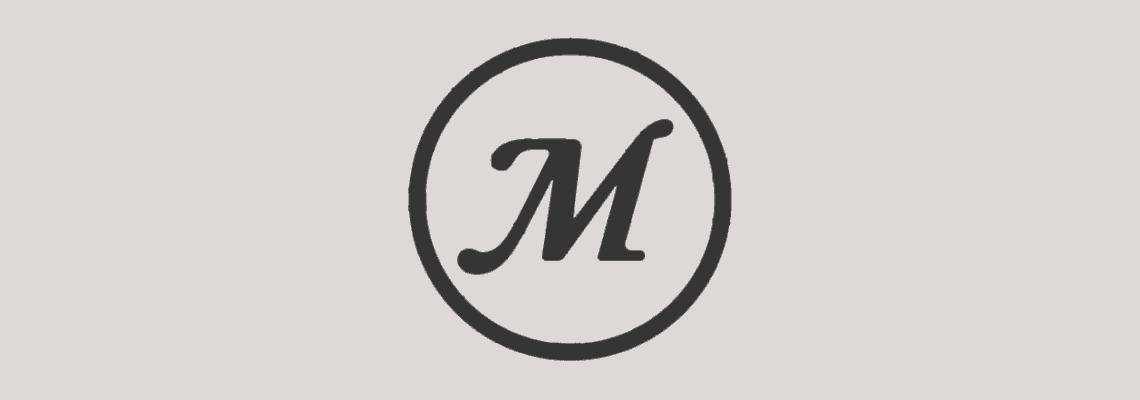 the masterbuilt logo minimalist