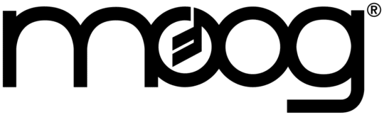 an image of the moog logo