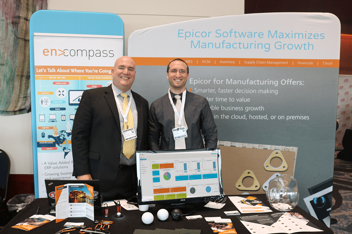 An image of the Encompass Team at the Georgia Manufacturing Summit 2018